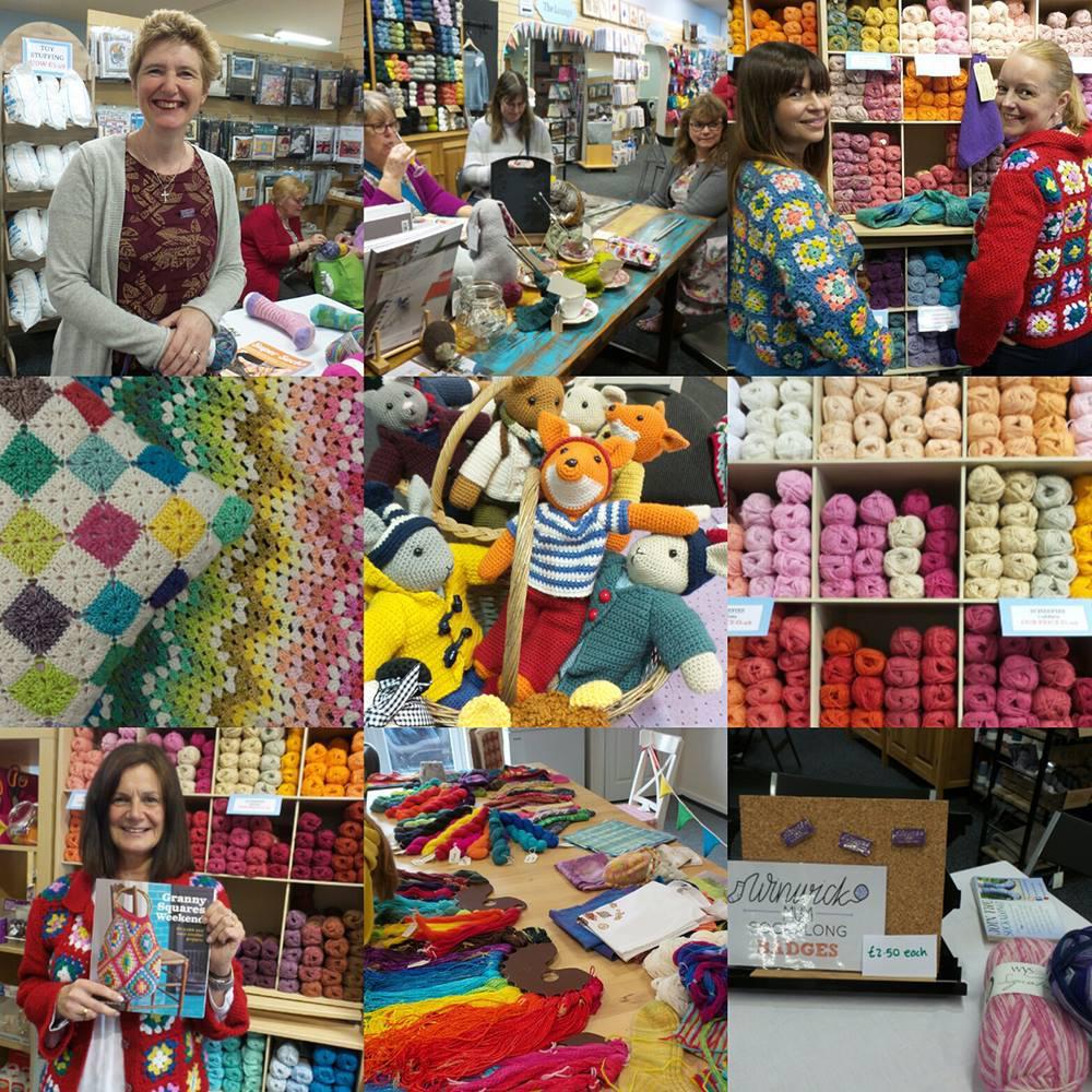 Yarn Shop Day 2018   Black Sheep Craft Barn