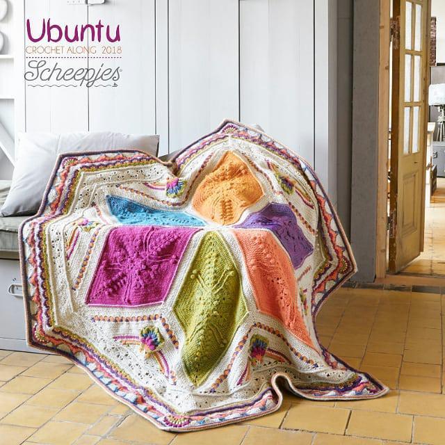 Scheepjes Ubuntu Large Blanket