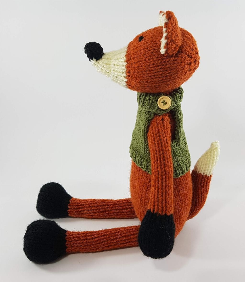 Ronnie the Fox | Toy Knitting Top Tips
