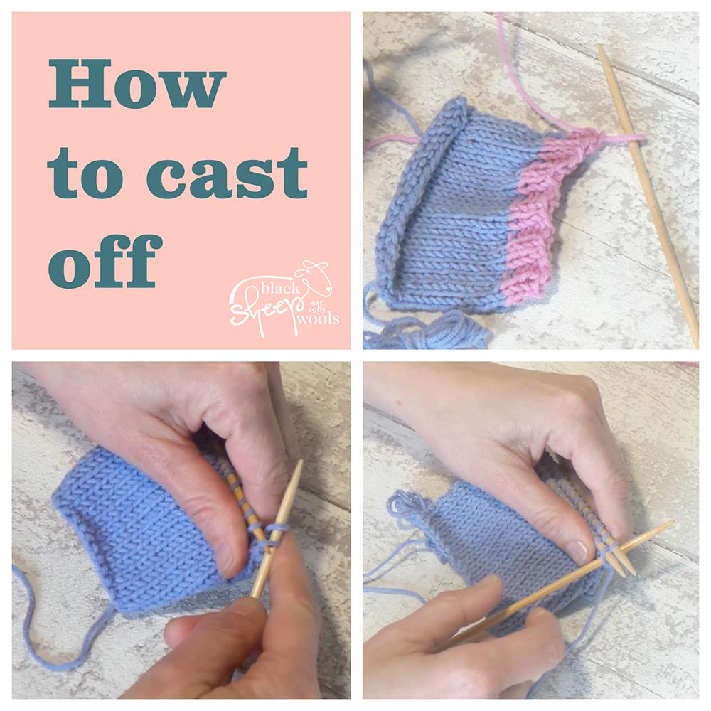 How to Cast Off | Black Sheep Wools