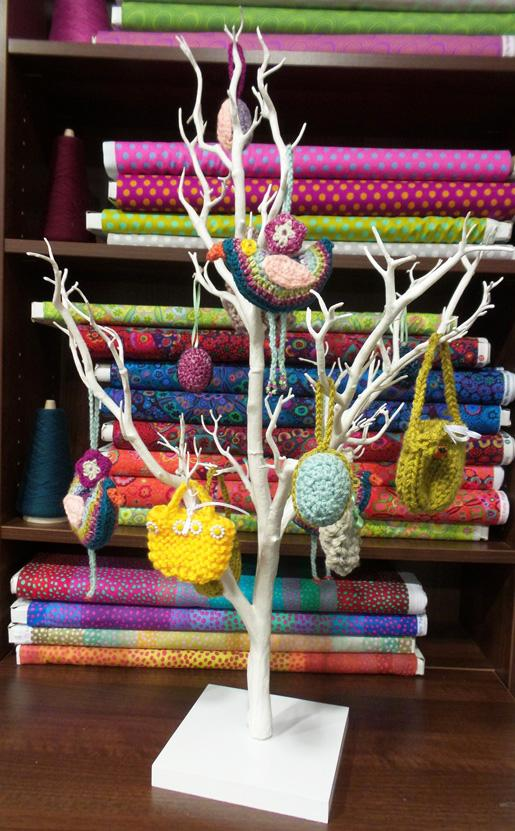 Decorating an Easter Tree | Black Sheep Wools
