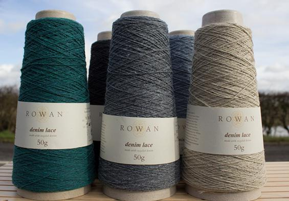 New yarn for your stash | Rowan Denim Lace