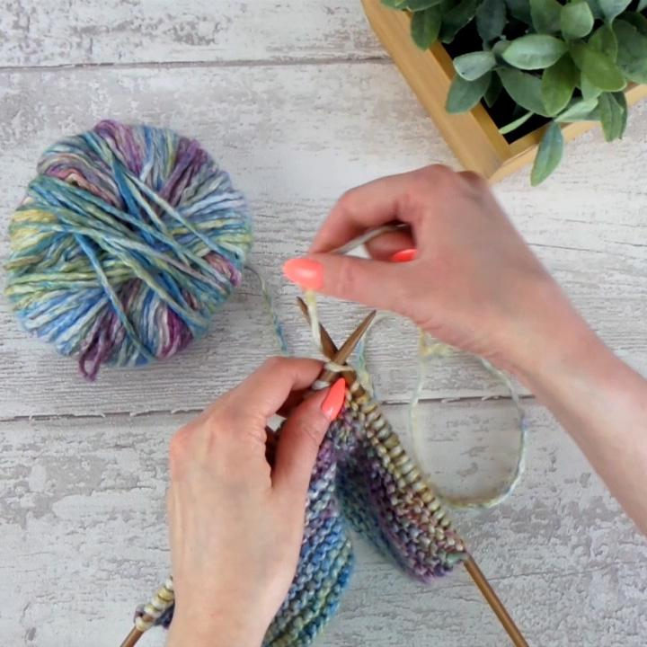 How to knit garter stitch | Black Sheep Wools