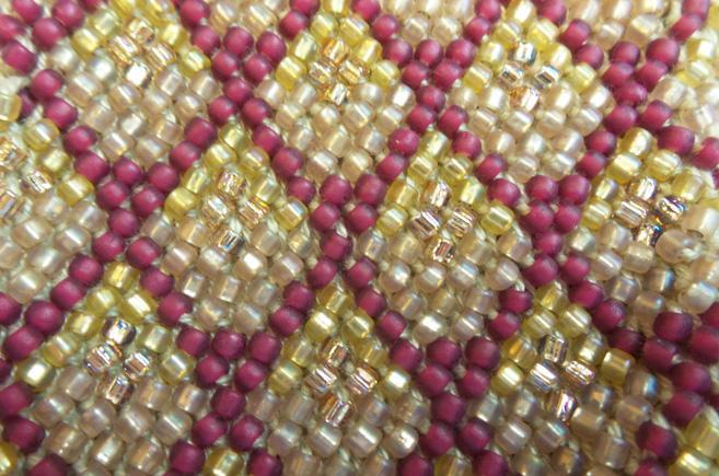 Juliet Bernard bead close up