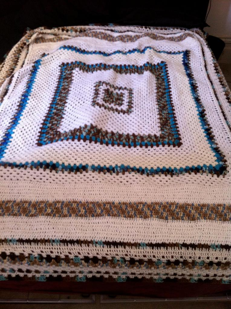 large granny blanket