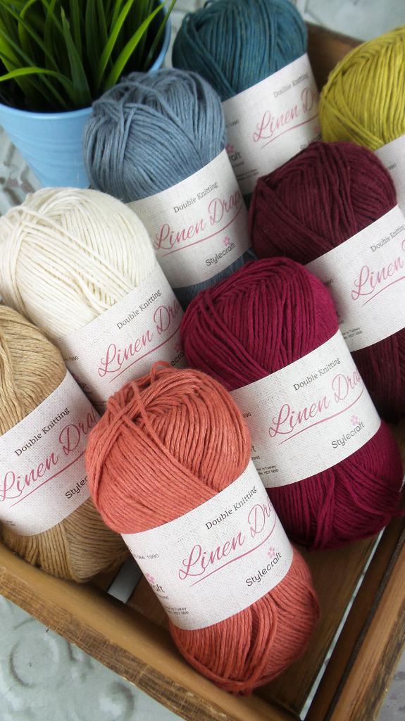 New yarns for your stash   Stylecraft Linen Drape