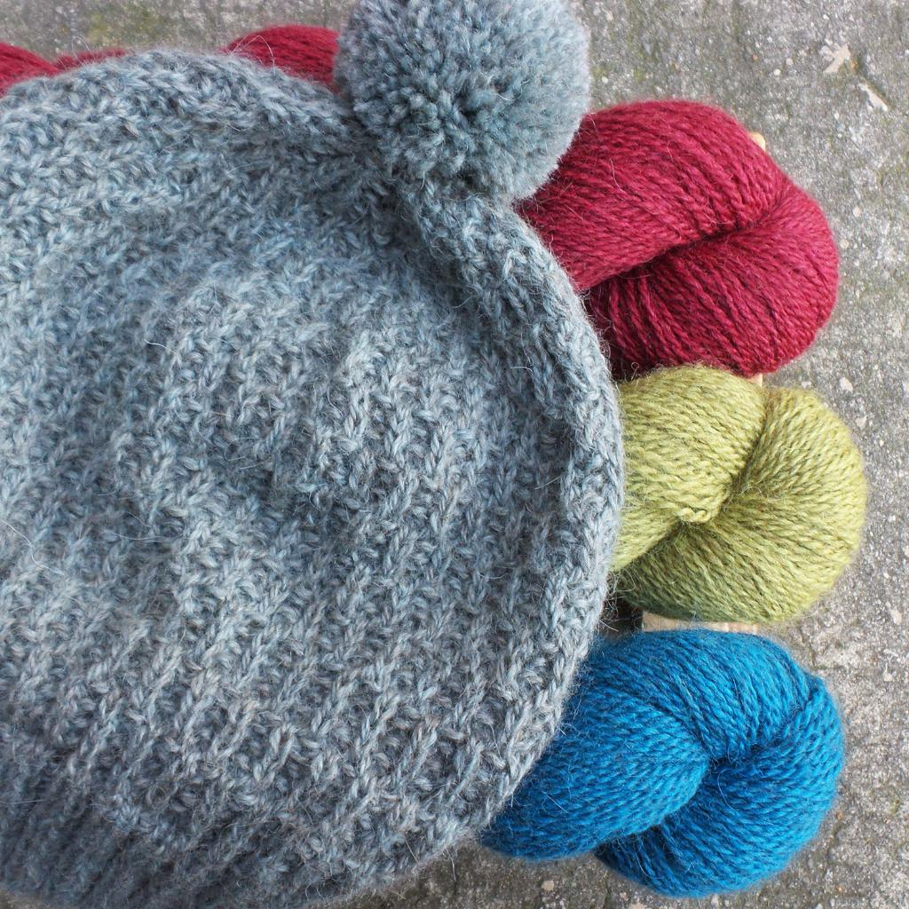 Rowan Moordlale | Buckler Hat | Black Sheep Wools