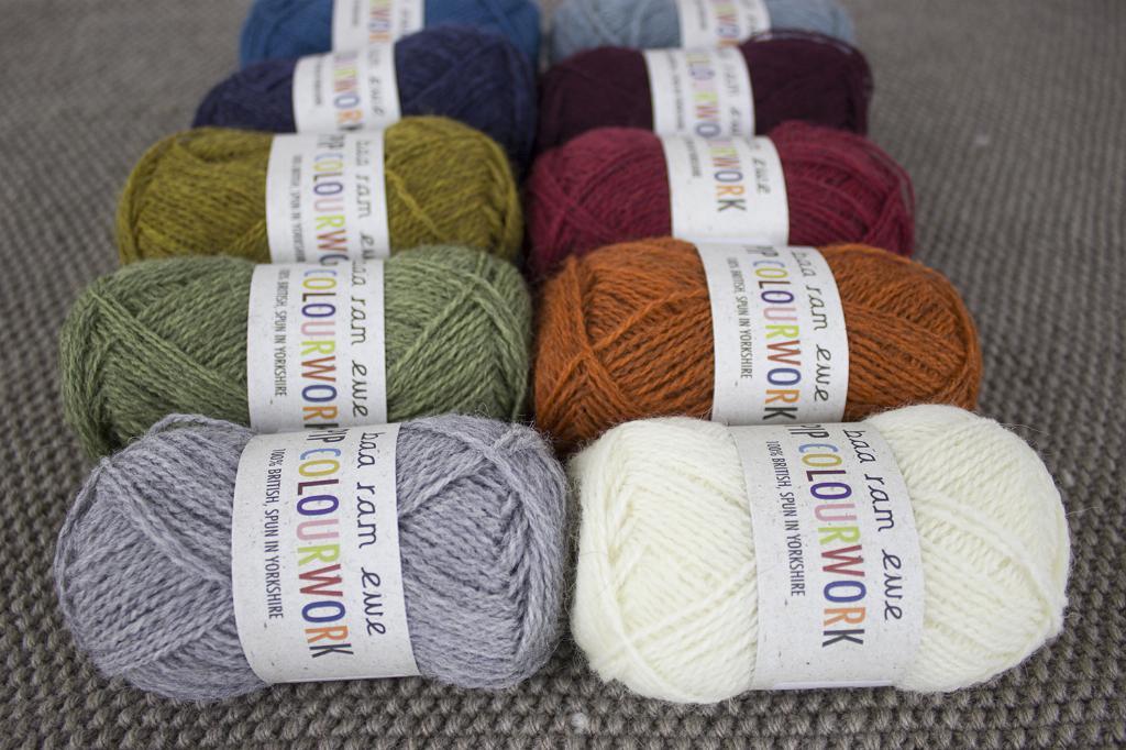 New yarn for your stash | Baa Ram Ewe Pip Colourwork