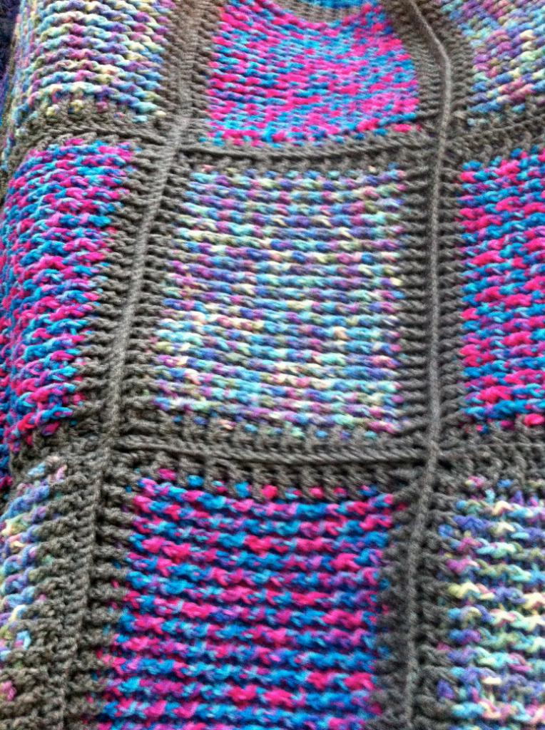 post stitch blanket