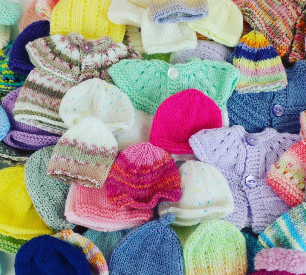 Charity Knitting | Black Sheep Wools