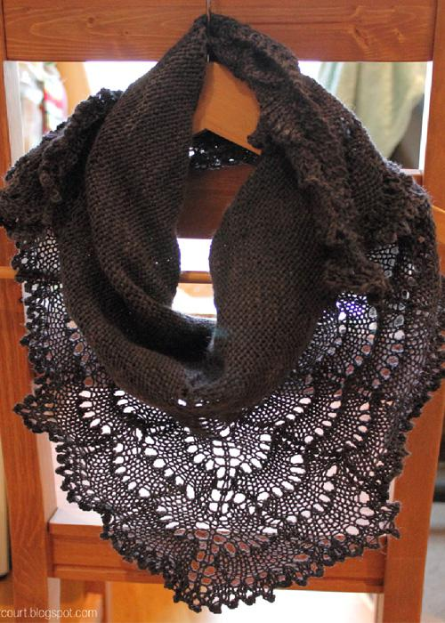 Bakercourt blog shawl