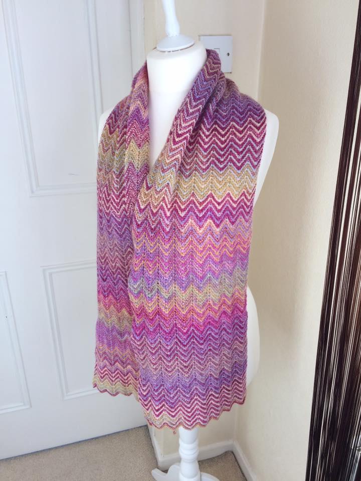 ZickZack scarf | BlackSheep Wools